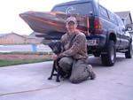 Skeets first hunting trip